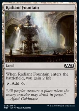 Radiant Fountain
